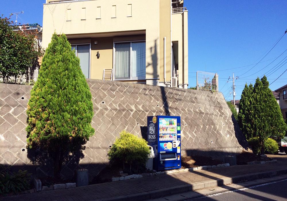千葉県成田市空中スカイデッキ正面から(施工前)