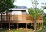 栃木県那須町の別荘ウッドデッキ施工例3