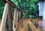 栃木県那須町の別荘ウッドデッキ施工例5