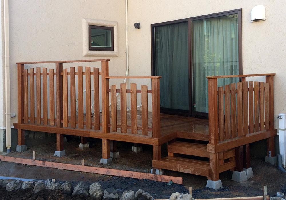 埼玉県さいたま市の戸建てウッドデッキ11