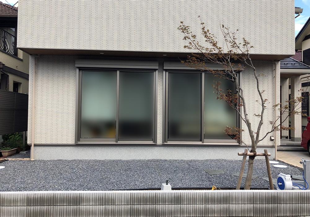 千葉県浦安市の戸建てウッドデッキ正面(施工前)