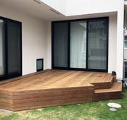 イペ材を使用した埼玉県桶川市の戸建てウッドデッキ施工