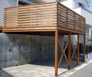 イペ材のウッドデッキは腐食に強く屋外での利用に最適です