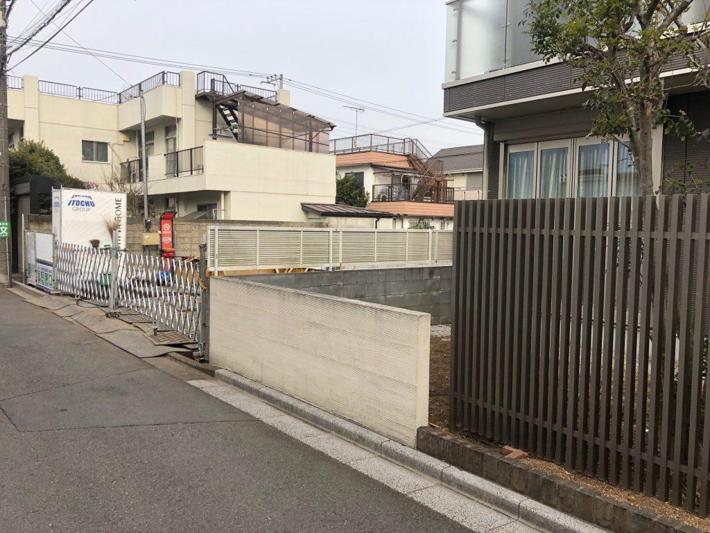 東京都三鷹市のウッドデッキ施工前