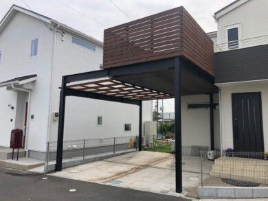 千葉県柏市のウッドデッキ施工例