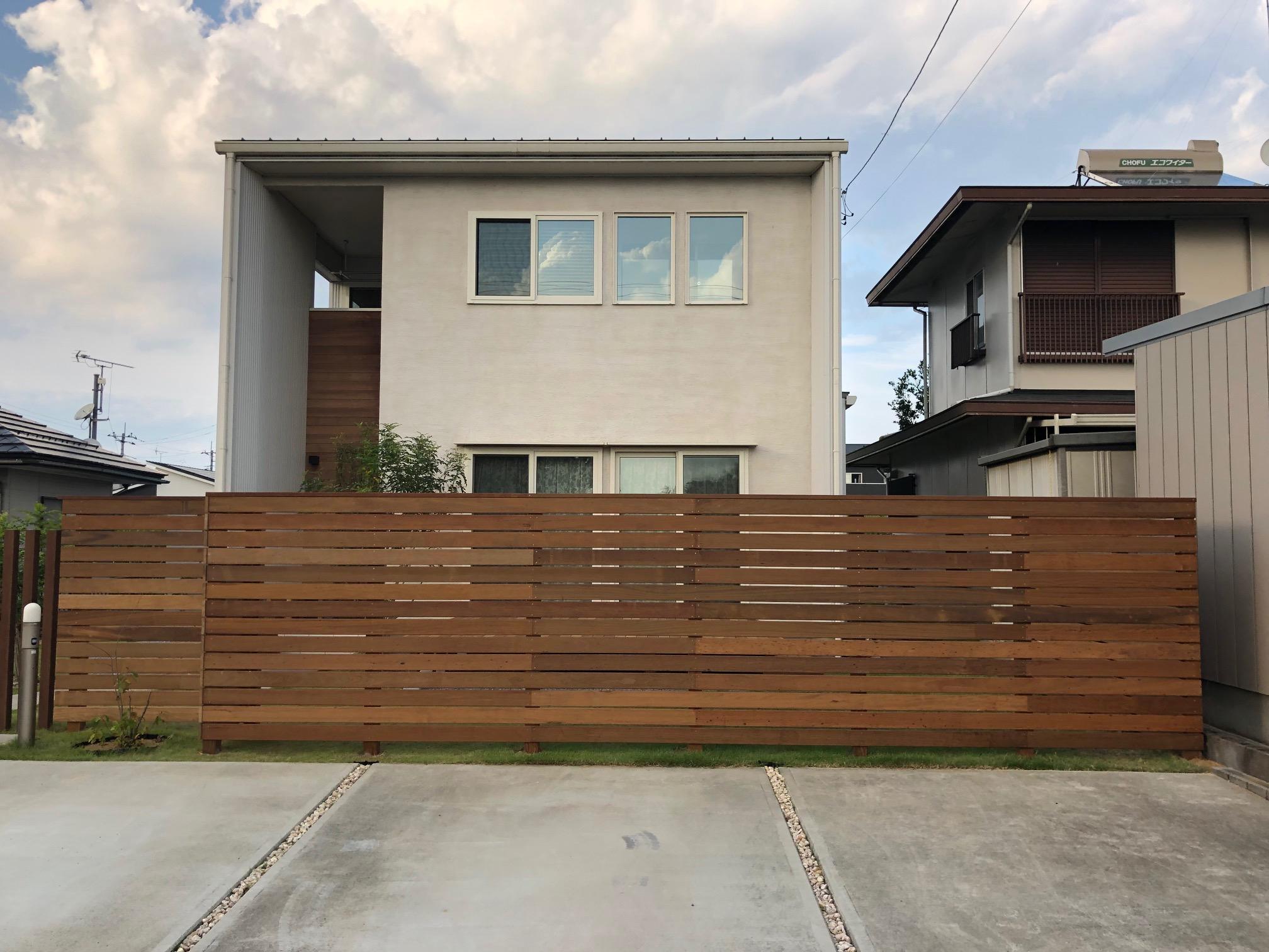 茨城県小美玉市のウッドデッキ施工例